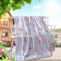 梦洁家纺出品 MEE 被芯 纯棉可机洗夏凉被空调被子 夏日甜馨 200*230cm