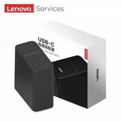 联想(Lenovo)Type-C便携电源适配器 45W 笔记本原装充电器 手机/平板/笔记本电脑多功能快速充电