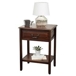 百伽 53850 实木边几小方桌