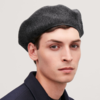 COS 0678794001 男士羊毛混纺贝雷帽