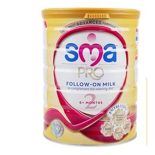 Wyeth 惠氏 SMA Pro 婴幼儿奶粉 2段 800g*6罐