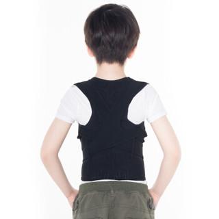 背背佳(babaka)U9款矫姿带脊椎矫正纠正驼背矫正带 成年儿童通用款男女隐形护腰矫正衣 L