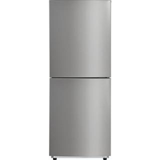 Midea 美的 冰箱小型双门冷藏冷冻宿舍租房家用中型节能电冰箱双开门172L