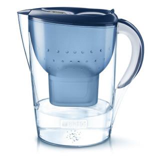 BRITA 碧然德 Marella 金典系列 滤水壶 一壶一芯 3.5L 蓝色