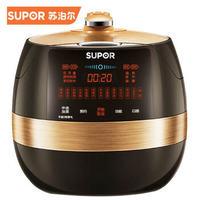 苏泊尔(SUPOR)电压力锅 6升大容量 鲜呼吸SY-60FC22Q 铜晶球釜 智能高压锅