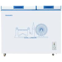 Homa  奥马 BCD-210H  卧式双温冷柜  210升