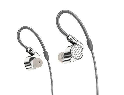 SONY 索尼 IER-Z1R 旗舰入耳式立体声耳机 (银色、耳挂式)