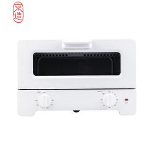 京造 JZ-KX02 迷你复古电烤箱 12升