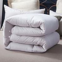 婉寇 全棉碳化水洗羊毛被芯纯羊毛填充  灰色, 150*200cm 重5斤
