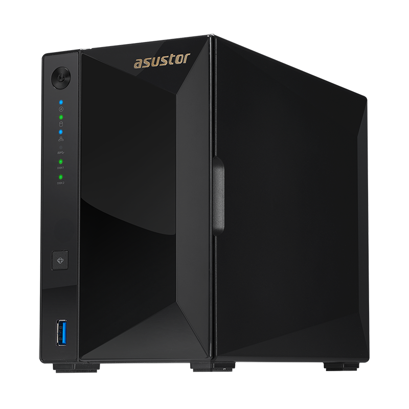 asustor 华芸 AS4002T 2盘位 NAS网络服务器(Marvell ARMADA-7020、2GB)