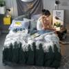 J.H.Longess 高克重圆网珊瑚绒加厚保暖床单四件套  1.5米-1.8米床