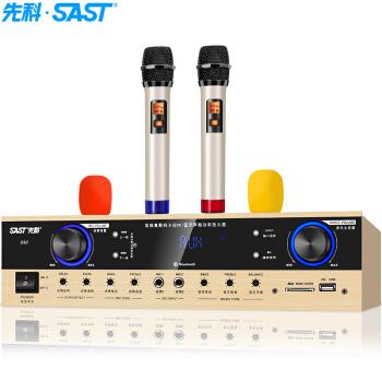 SAST 先科 D62 大功率家庭影院功放机