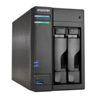 ASUSTOR 华芸 AS6302T 2盘位 NAS网络存储服务器 (J3355、2GB)