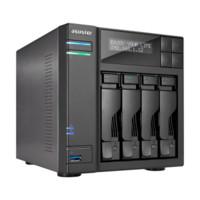ASUSTOR 华芸 AS6404T 4盘位 NAS网络存储服务器 (J3455、8GB)