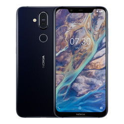 NOKIA 诺基亚 X7 智能手机 幻夜银4GB 64GB