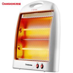 长虹(CHANGHONG)取暖器家用/电暖器/台式 电热 两档调节 速热暗光 F02