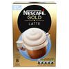 英国进口 雀巢(Nestle)金牌拿铁速溶咖啡 8条装156g 15元