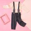 考拉工厂店  儿童可爱背带裤套装 80-100 *3件 99元(合33元/件)