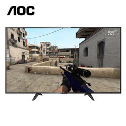 AOC 55G1X 55英寸 4K 液晶电视