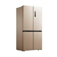 聚划算百亿补贴: Midea 美的 BCD-505WTPZM(E) 十字对开门冰箱 505L