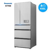 61预售:Panasonic 松下 NR-TE51TP1-S 498升 多门冰箱