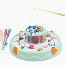 beiens 贝恩施 B503 宝宝电动双层钓鱼玩具 *5件