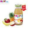 喜宝 婴幼儿果汁 有机香蕉苹果菠萝汁 200ml/瓶 原装进口 12.9元