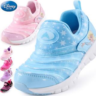 Disney 迪士尼 DS2905 女童毛毛虫休闲鞋