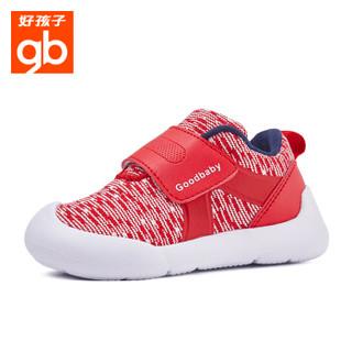 gb 好孩子 18FWLT010 儿童学步鞋针织机能鞋