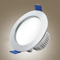 雷士 LED嵌入式筒灯 3W 暖白 2个