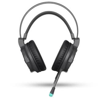 Dareu 达尔优 EH716 游戏耳机 黑色