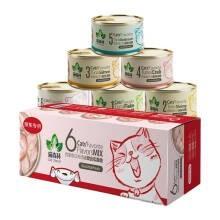 猫森林 宠物 猫罐头 85g 6罐装