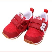 MIKI HOUSE 透气网面运动款 二段大童学步鞋