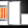Grevol 品拓 LED集成吊顶浴霸照明灯具组合 套餐D 499元