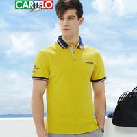 CARTELO T8108 男士短袖polo衫