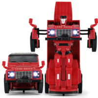 Rastar 星辉 路虎卫士变形合金车 62000 红色