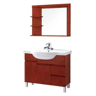 箭牌(ARROW)APGM10L352B 箭牌卫浴浴室柜橡胶木组合套餐