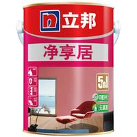 NIPPON PAINT 立邦 净享居 抗甲醛净味五合一无添加内墙乳胶漆 (5L)