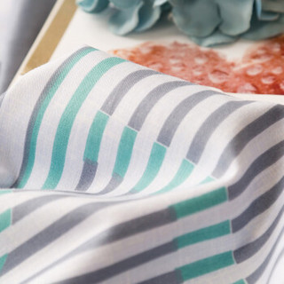 迎馨家纺 全棉床单单件床上用品高支高密床单纯棉斜纹单人床单1.2米床 一起旅行A版 155*230cm