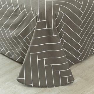 迎馨 套件家纺 全棉斜纹床单单件单人学生宿舍床单 适用1.2米床 情网A版 155*230cm