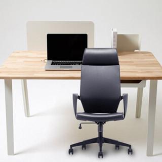 洛克菲勒 西皮办公家具真皮办公转椅皮艺电脑椅简约现代中班椅老板椅会议椅CH-192A