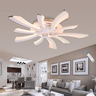 洛林(ROLin) 遥控吸顶灯客厅卧室灯北欧创意个性50W无极调光灯826/5