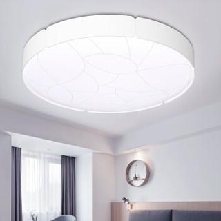 雷士(NVC)  LED过道吸顶灯具卧室阳台灯玄关灯具灯饰 现代简约分段调光卧室灯 18瓦