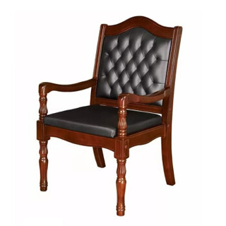 富路达 实木电脑椅员工会议椅子家用餐桌麻将椅Y-12