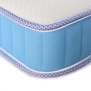 大自然 棕床垫 榻榻米床垫 软硬适中 山棕垫 单双人静音床垫 梦享 蓝色 可定制 1.5米*2米*0.08米