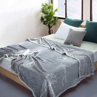 迎馨家纺 法兰绒毛毯加厚珊瑚绒毯子空调毯单双人盖毯 誓言 150*200cm