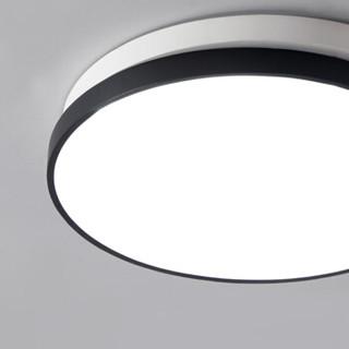 KIMHUAN 金幻 旋律圆 LED吸顶灯圆形卧室灯具餐厅书房灯饰 38CM圆形三色温20W