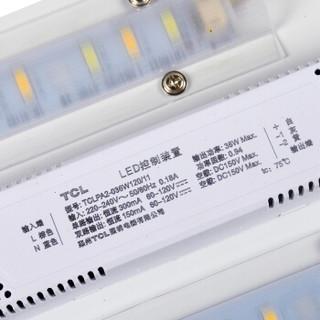 TCL照明 LED吸顶灯 无双28W三段调色 餐厅卧室灯饰灯具 圆形Φ520*H95mm