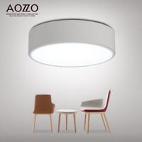 AOZZO 奥朵 CL31198 LED吸顶灯 现代简约个性创意圆形卧室走廊过道阳台灯