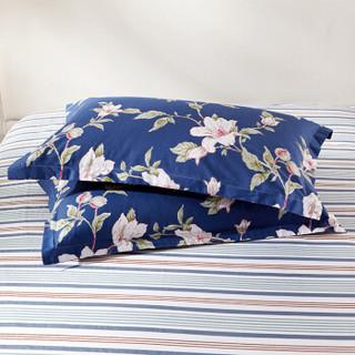 九洲鹿 套件家纺 全棉床上用品斜纹印花四件套 床单被套 彩色梦境-蓝 1.5/1.8米床 200*230cm